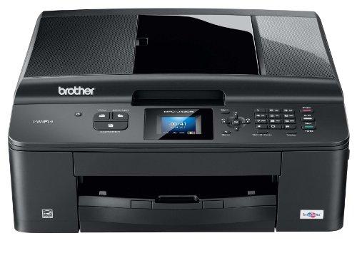Brother-MFC-J430W-4-in-1-Farbtintenstrahl-Multifunktionsgert-Scanner-Kopierer-Fax-Drucker-USB-20WLAN-schwarz