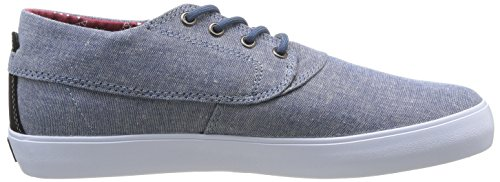 Lakai Camby Mid Oasis, Chaussures de skateboard homme Gris (Stonewash Chambray)