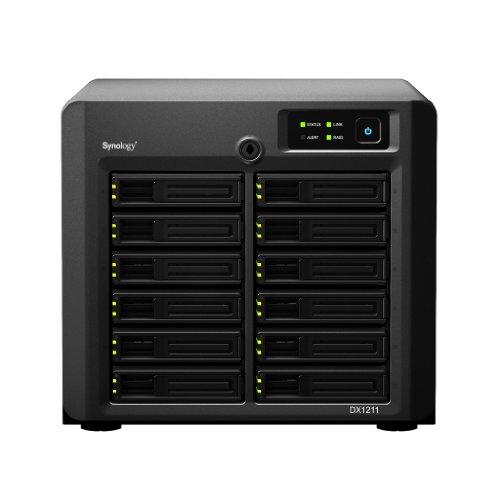 Synology DX1211 NAS-System (SATA, 12-fach HDD-Erweiterung)