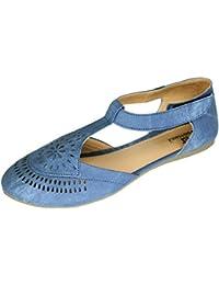 Footshez Women's Denim Trendy Fashion Sandals