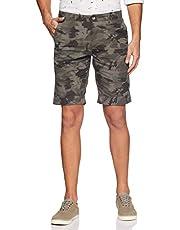 Diverse Men's Slim Fit Cotton Shorts