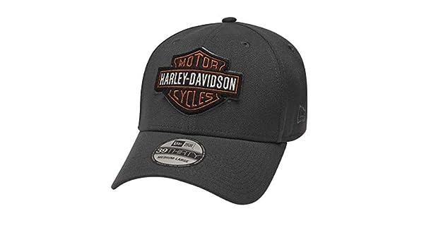 Qian Mu888 TopSeller Harley Davidson Logo Adjustable Peaked Baseball Caps Hats For Unisex Navy