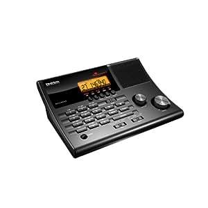 Uniden BC345CRS Analogique Noir récepteur radio - récepteurs radio (AM,FM, Analogique, LCD, 228,6 mm, 152,4 mm, 76,2 mm)