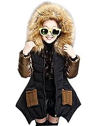 Manteau chaud fille 6 ans