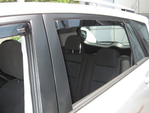 Car Lux NAR03712 Derivabrisas Deflectores de viento delanteros Accesorios para descapotable
