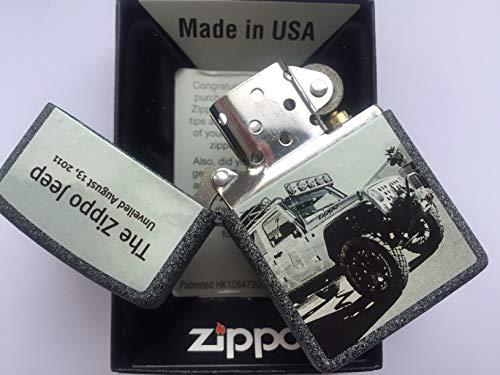 Zippo Briquet à Collectionner Édition limitée 211 Planetta Jeep