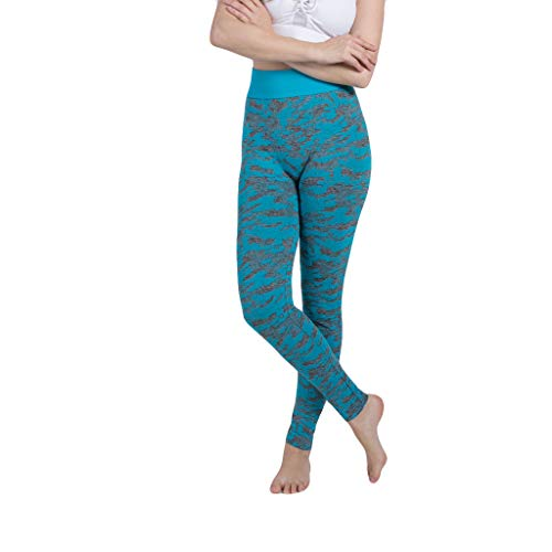 JKLEUTRW Damen Yoga Pants Sommer 2019 Sexy Frauen Seamless Camouflage Knit Hip Yoga Hosen Zum Wandern Training Hosen Sexy Seamless Leggings Hosen Funktions Reizvolles Sporthose -