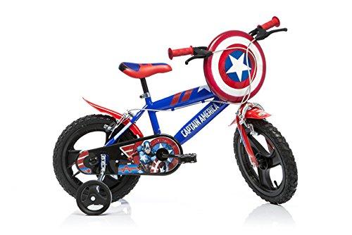 Dino Bikes 414u-cagb 35,6cm Captain America Fahrrad - Captain America-fahrrad