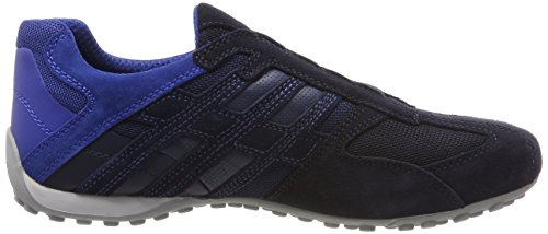 Geox Uomo Snake F, Sneakers Basses Homme Bleu (Navy)