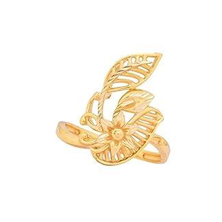 Senco Gold 22KT Yellow Gold Ring for Women