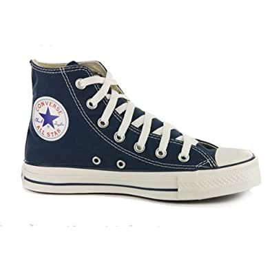 Converse All Star Chuck Taylor Navy High Top Trainers UK 7.5