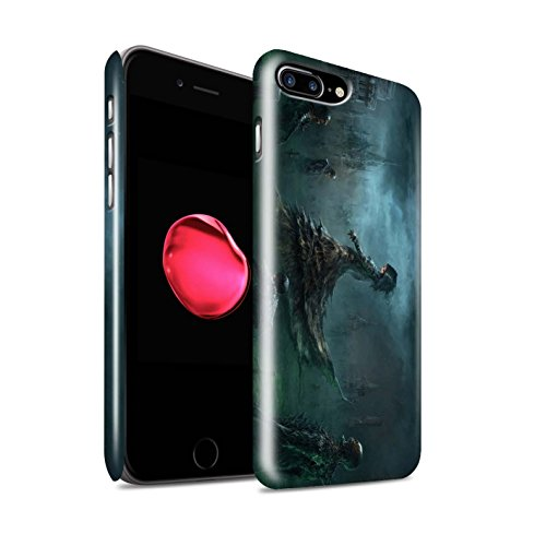 Offiziell Chris Cold Hülle / Glanz Snap-On Case für Apple iPhone 7 Plus / Pack 5pcs Muster / Unterwelt Kollektion Banshee/Hexe-Königin