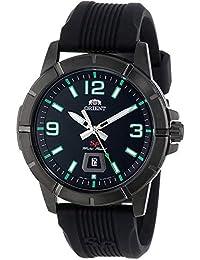 Orient Reloj Analógico para Hombre de Cuarzo con Correa en Caucho FUNE9008B0