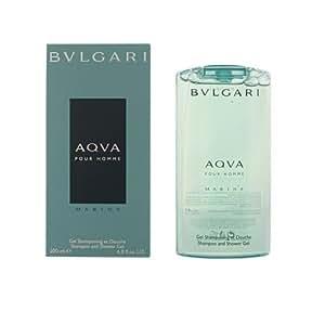 Bulgari Aqva Marine Shampoo and Shower Gel for Men 200 ml