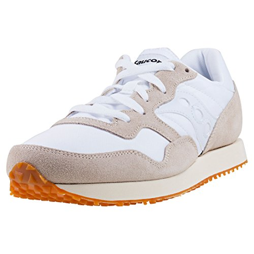 Saucony DXN Trainer Vintage Wht/Gum S70369-17, Baskets Mixte Adulte Multicolore (White/gum S70369-17)