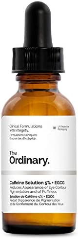 The Ordinary Caffeine Solution 5% + EGCG 30ml - Reduces Appearance of Eye Contour Pigmentation and of Puffines