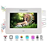 XElectron® DPF703 7 inch LED Digital Photo Frame/Video Frame with 1280×720, 720P Support