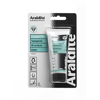 Araldite Crystal Fix Grab Adhesive Tube, 55 ml