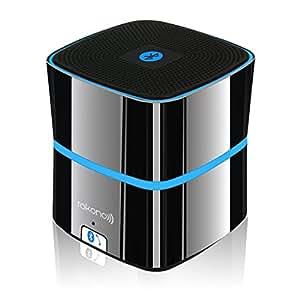 Rokono (F10) BASS+ Mini Altoparlante Bluetooth per iPhone / iPad / iPod / lettore MP3/ laptop - Nero Titanio