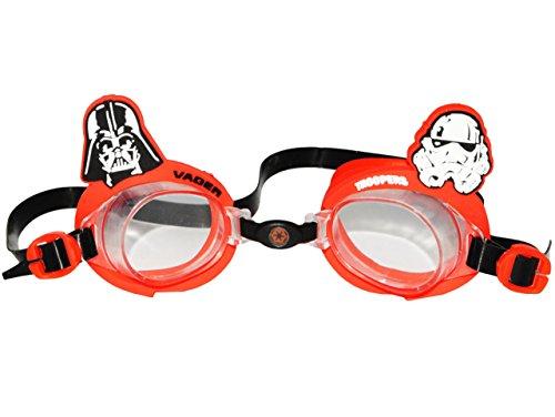 Unbekannt 3-D Effekt _ Schwimmbrille / Taucherbrille / Chlorbrille -  Star Wars  - Kinder von 2 bis...
