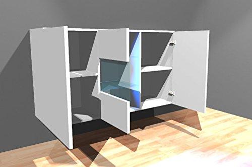 Credenza Moderna Profondità 40 : Muebles bonitos credenza sospesa moderna design varedo bianco