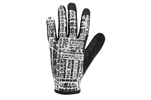 MASSI Graffiti Langer Handschuh, Schwarz, Einheitsgröße Preisvergleich