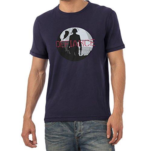 NERDO - Jyn Defiance - Herren T-Shirt Navy