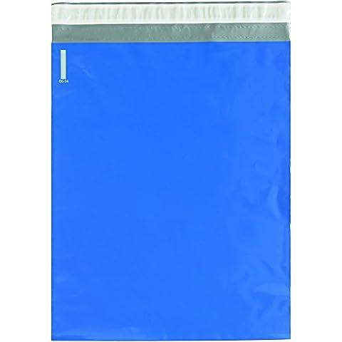 Box bcpm1419bl Poly Versandtaschen, 141/5,1x 48,3cm blau (100Stück)