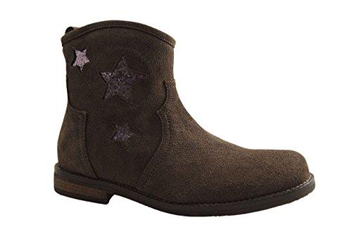 Reqins KAMPUS Peau - Boots - Gris Graphite GRIS graphite