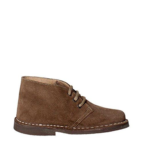 Grunland PO0160 Chaussures À Lacets Garçon Marron Taupe
