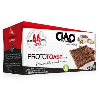 Ciaocarb iaf00084967 prototoast cacao stage 1, 4 confezioni da 50 g