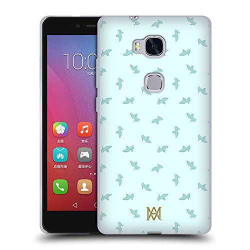 Head Case Designs Offizielle Marie-Antoinette Schuhe Muster Soft Gel Huelle kompatibel mit Huawei Honor 5X / GR5