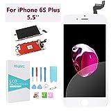 Ibaye - Reemplazo de Pantalla iPhone 6s Plus 5.5'' Táctil LCD con Herramientas de Reparación y...
