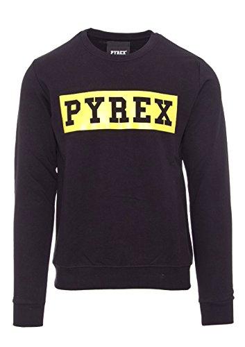 PYREX UNISEX SWEATSHIRT RUNDHALS 33825 Nero