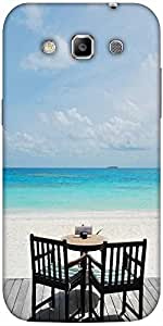 Snoogg Beautiful Beach Bar View In Maldives Designer Protective Back Case Cov...