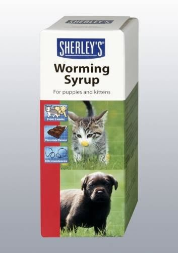Sherley's Puppy/Kitten Worming Syrup (TP)(SHWS)