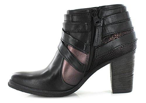 Mjus  580236, Bottes Classics courtes, doublure chaude femmes Noir
