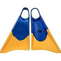Churchill Makapuu -  Aletas,  tamaño L, color azul / amarillo