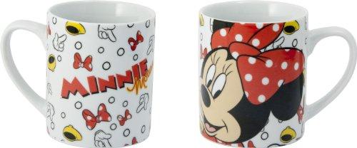 Joy Toy 770136 - Disney Mickey y Minnie - Taza de cerámica en Paquete Regalo (12 x 8,5 x 10 cm)