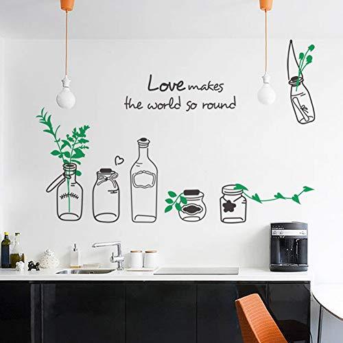 Wandaufkleber kreative drift flasche aufkleber wasserdicht abnehmbare wandaufkleber großhandel