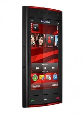 Nokia X6 Navi Edition Smartphone (8,1 cm (3,2 Zoll) Display, Touchscreen, 16GB interne Speicher, T-Mobile Software)