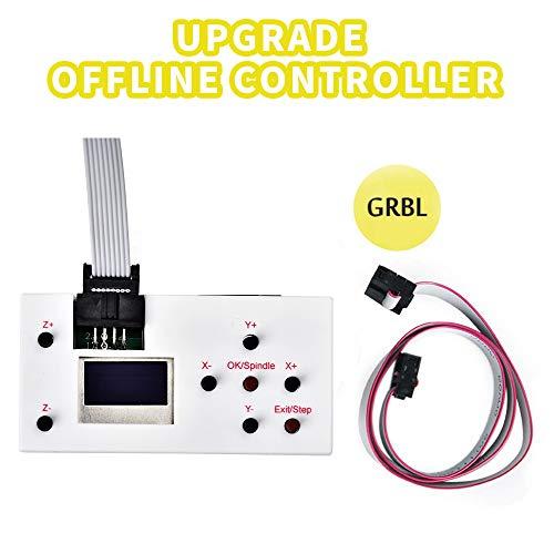 ETE ETMATE Upgrade der GRBL-Offline-Controller-Karte, Hochleistungs-CNC-Router-Offline-Steuermodul, Offline-Fernbedienung GRBL-Controller-Unterstützung SD- und TF-Karte - Datei-speichern-modul