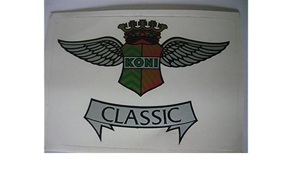 Aufkleber Motorsport Koni Classic Gr Ca 8 X 6 Cm