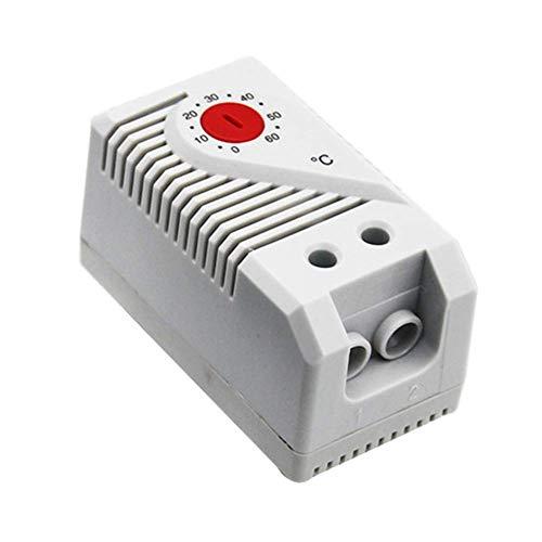 Ganquer Kompakt Mechanisch Thermostat Temperatur Controller Schalter Verbindet Filter Lüfter - Rot, Free Size -