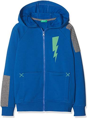 United Colors of Benetton Jacket W/Hood L/s Chaqueta, Azul Bluette 07v, 104 Talla del Fabricante...