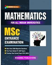 Mathematics For All Indian Universities MSc Entrance Examination