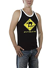 Touchlines Herren T-Shirt At At Crossing Kontrast