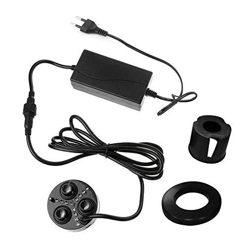 Eliky 3 Head Mist Maker Nebulizzatore ad ultrasuoni Umidificatore Fogger nebulizzatore EU Plug