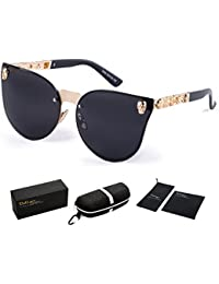 4b1cefc7f46 ... Steampunk Style and Round Mirrored Lens · £27.31. 4.2 out of 5 stars  126 · Dollger Skull Design Cat Eye Sunglasses UV400 Protection