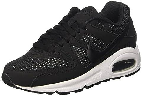 Nike Wmns Air Max Command, Chaussures de Sport Femme, Noir / Noir-Blanc, 36 EU